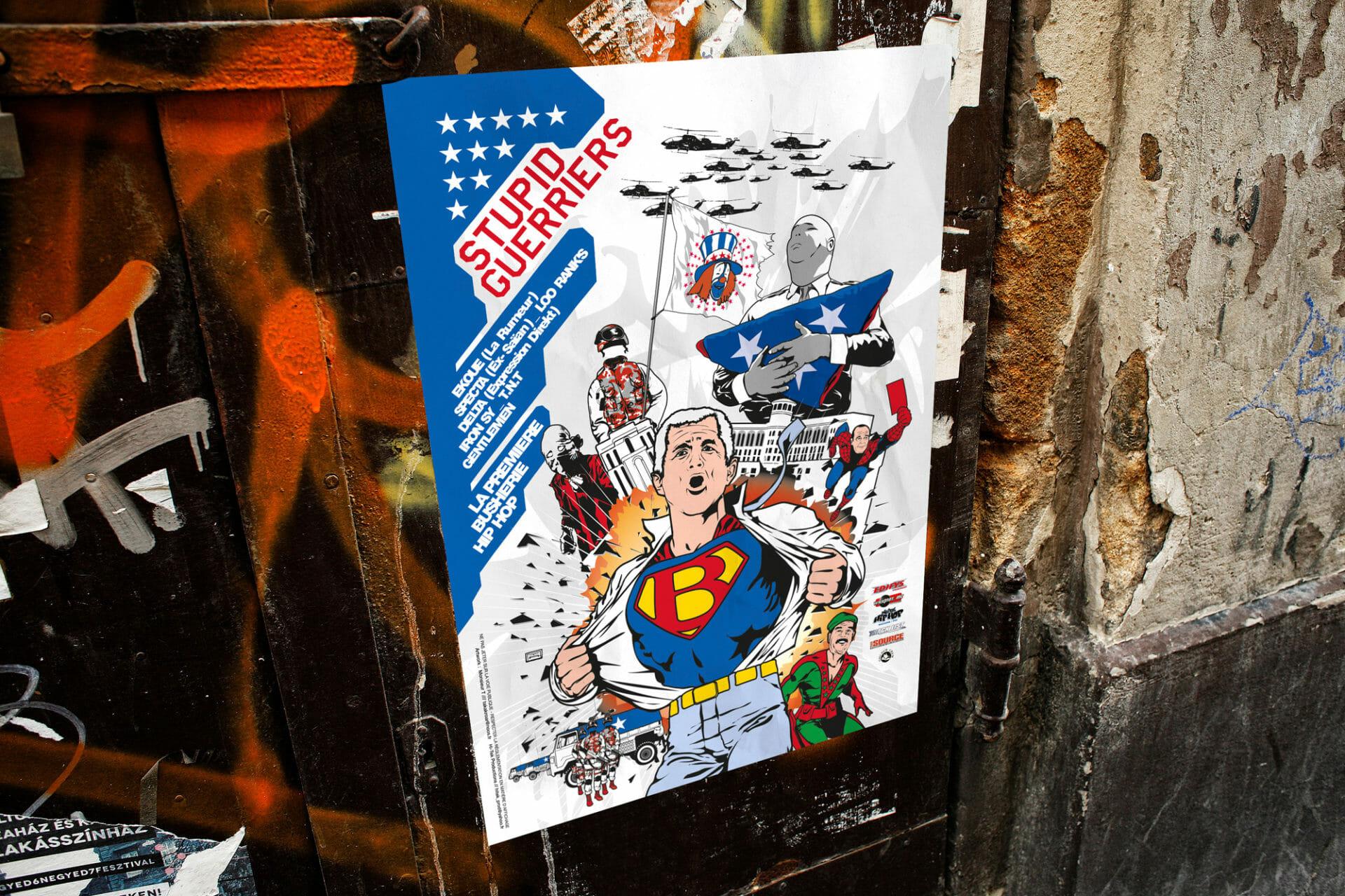 StupidGuerrier-book-affiche